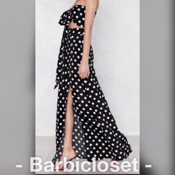 Dresses & Skirts - Polka Dot Top and skirt